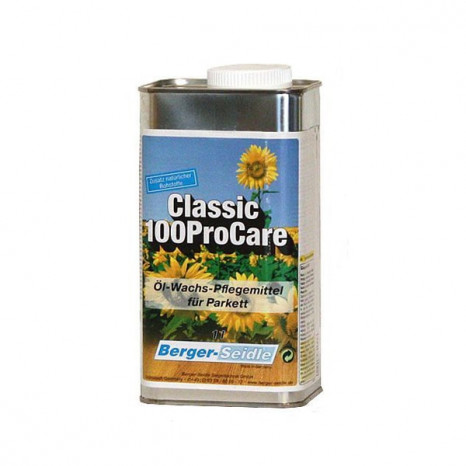 Специальное средство для последующих системных мероприятий по уходу за полами, которые были покрыты маслом Berger Classic 100Pro Oil.