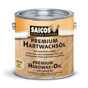 Масло воск для дерева «Saicos Premium Hartwachsol - Pur»