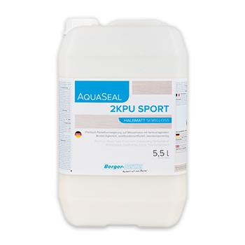 Паркетный лак для спортивных залов «Berger Aqua-Seal 2KPU Sport»