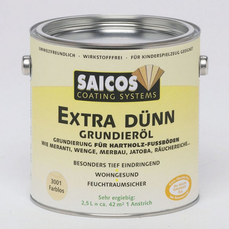 Грунтовка для дерева «Saicos Extra Dunn Grundierol»
