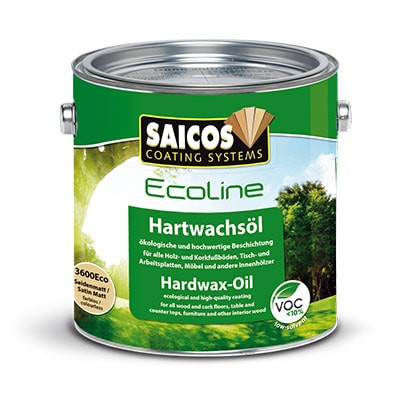 Масло воск для дерева «Saicos Ecoline Hartwachsol»